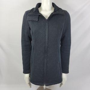North Face Caroluna Quilted black jacket sz M